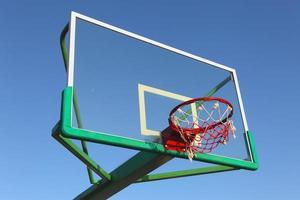 Panel basketball hoop photo