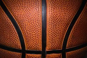 Basketball ball detail photo