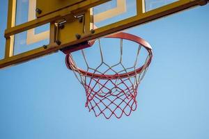 Basket and hoop photo