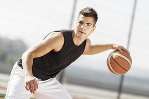 jugador de baloncesto foto