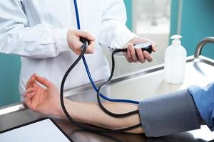 Measuring blood pressure photo