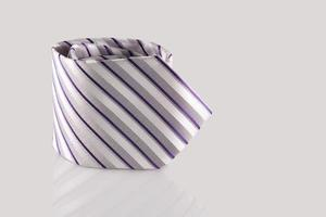 corbata de cerca foto