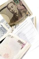 Japanese Notes, close-up