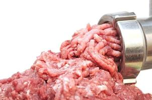 Meat grinder close up