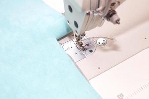 Sewing machine close up.
