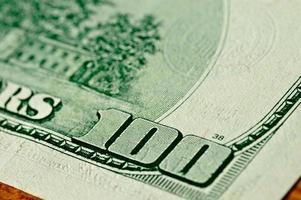 close-up 100 dollars photo