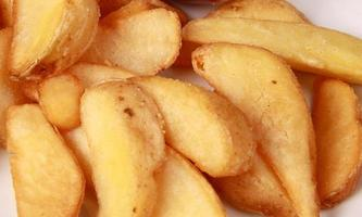 coocked potato close up