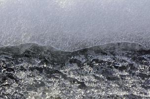 ice close-up texture