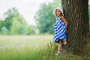 Girl in the park photo