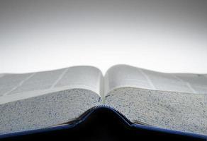 libro de texto abierto