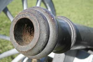 Close Up Historical Cannon