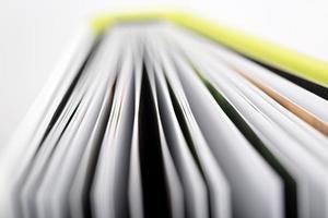 close-up de um livro aberto