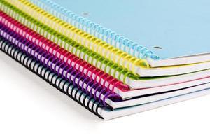 cadernos foto