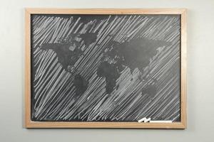 Tafel Weltkarte