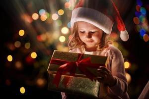 luz de Navidad foto
