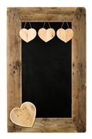 Happy Valentine's Day Love Chalkboard Restaurant Menu Board Recl