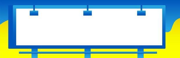 moderne Banner Plakatwand vektor