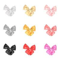 Set Of Realistic Bows vector