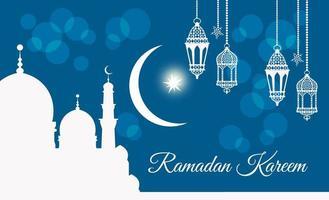 Welcome Ya Ramadan Kareem vector