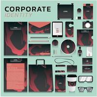 Business Identity set  vector