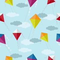Colorful Kite Pattern vector