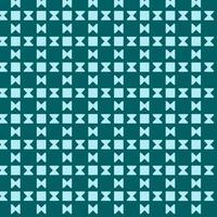 padrão de ampulheta quadrado geométrico ciano