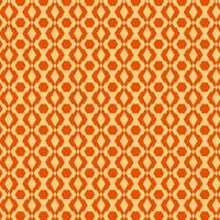 retro modello senza cuciture arancio chiaro e scuro