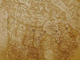 Canadá - tono sepia foto