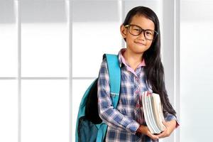 Young Asian Student Girl photo