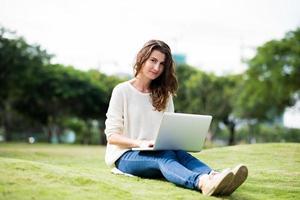 linda estudiante foto