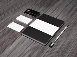 Mockup business template. photo