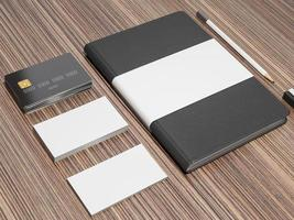Mockup business template. photo