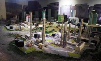 Oil refinery Model for Kids to Study photo