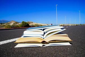 en el concepto de literatura vial foto