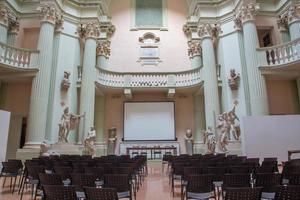"""Bologna -  Aula of the university  """"Accademia di Belle Arti"""""""