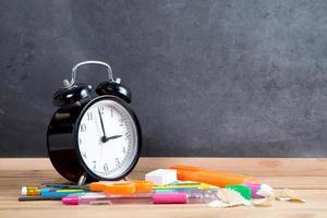 Back to school blank board photo