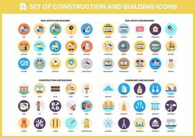Set of 60 Building and Landmark Icons