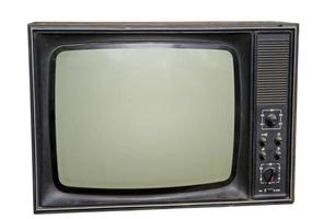 tv vintage foto