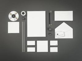Mockup business template.  Premium photo