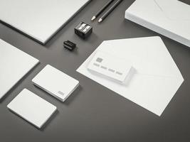 Mockup business template.  Premium photo