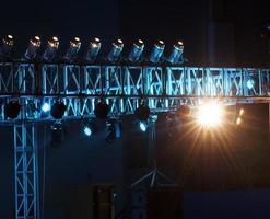 Studio lighting equipment photo