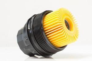 inserte el filtro de aceite del motor con la carcasa foto