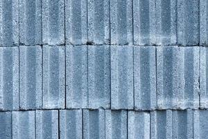 Pattern of concrete bricks