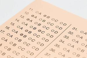 Exam Test photo