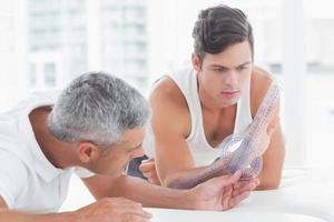 arts pols meten met goniometer
