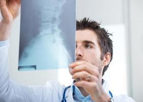 Radiologist exam photo