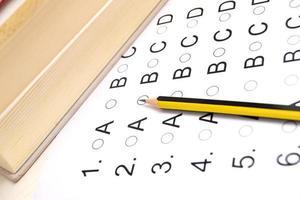 lista de prueba de examen