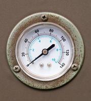 Vintage gauge meter photo