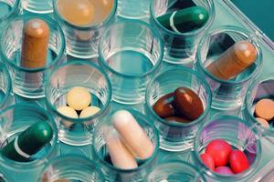 Pills and capsules photo