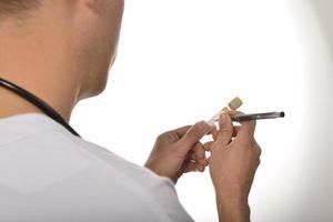 medicina analisi e provette foto